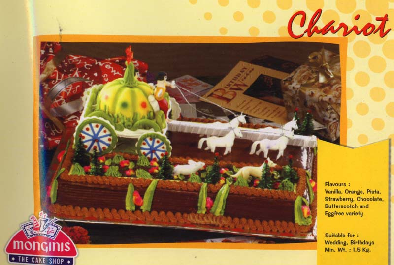 Send birthday monginis cakes to your dear near ones in kolkata kgbircake033 chariot 15kg chocolate truffle sciox Image collections